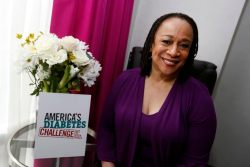 Award-winning actress S. Epatha Merkerson, who has type 2 diabetes, helps Merck launch the America's Diabetes Challenge: Get to Your Goals educational program to show her commitment to know and attain her A1C (blood sugar) goal, Wednesday, April 23, 2014, in New York. (Jason DeCrow/AP Images for Merck)